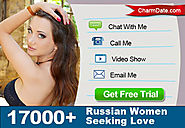 CharmDate.com is a premium international dating site connecting beautiful Russian and Ukrainian women seeking serious re