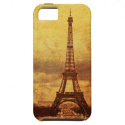 Vintage Eiffel Tower i Phone case from Zazzle.com