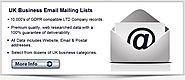 United Kingdom Email List | UK Business Mailing Addresses Database