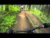 Riding some DH at Hood River (Post Canyon)