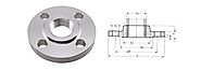 Stainless Steel Carbon Steel Threaded Flanges Manufacturer Suppliers Dealer Exporter in India