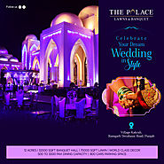 Celebrate your WEDDING in STYLE | The Palace Banquet Hall
