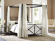 Canopy beds have become a popular option