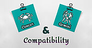 Cancer-Gemini Compatibility In Love, Sex, Sentiments & Intellect