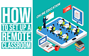 How to set up a remote classroom - BookWidgets