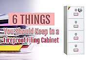 Fireproof Filing Cabinet | Protect Your Items - Buy A Safe