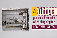 Home Wall Safes | 4 Things To Consider Before Buying - Buy A Safe