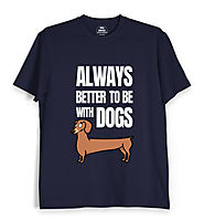 Pet T shirts for Men and Women Online | Animal/pet Lover T shirts India