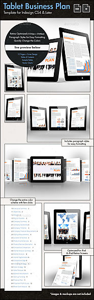 Business Plan Template for Tablets