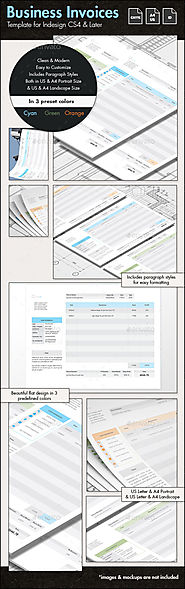 Business Invoices - US Letter