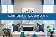 Long Term Storage Sydney Tips and Tricks for Furniture and Appliances