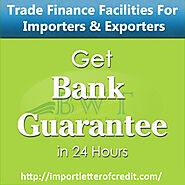 Bank Guarantee MT760 – For Traders and Contractors