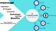 Importance of IT Support Services for Businesses and Their Benefits
