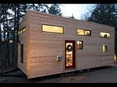 "Couple Builds Own Tiny House on Wheels in 4 Months for $22,744.06- ""hOMe"" FULL TOUR"