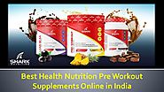 Best Health Nutrition Pre Workout Supplements Online in India