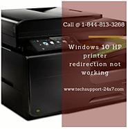 HP printer redirection not working | Call @ 1 888-225-4458