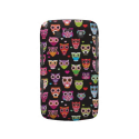 Retro owl pattern illustration blackberry bold covers from Zazzle.com