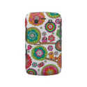 Retro bird pattern illustration blackberry bold cover from Zazzle.com