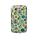 Cute retro apple flower pattern design blackberry bold covers from Zazzle.com