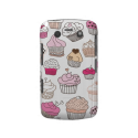 Cupcake sweet candy cake pattern Case-Mate blackberry case from Zazzle.com