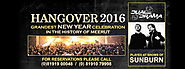 New Year Eve Celebration (Hangover 2016)