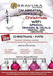 Christmas with special offers