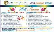 Holi Mania (Long Weekend Special) in Meerut