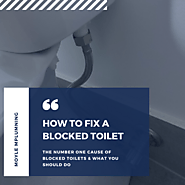How To Fix a Blocked Toilet | The No.1 Blockage Cause We Encounter