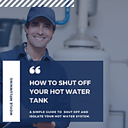 How to shut off Hot Water Tank