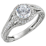 Floral Engagement Rings | Vintage Style Diamond Rings | Wedding Rings UK