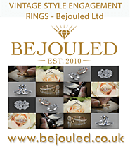 Bejouled Ltd — Vintage Style Rings Uk Here at Bejouled Jewellery...
