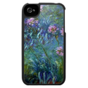 Monet Impressionism Flowers iPhone 4 Case from Zazzle.com