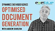 Document generation with Microsoft Dynamics 365
