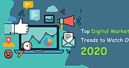 Ideatore Interactive Solutions: Best 5 Digital Marketing Trends which are going to roll out in 2020