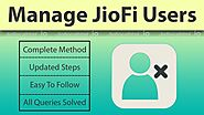 Complete process of blocking JioFi Users Hotspot Connections @ Jiofilocalhtml.io