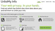 UnlistMy.Info - Your web privacy. In your hands.