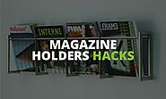 Magazine Holders Hacks: 11 Creative to Use Magazine Holders to Create Storage Space in Your House
