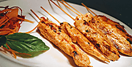 10. Thai Chicken Satay