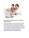 Same Day Loans Online- Loans on the Same Day Easy Online