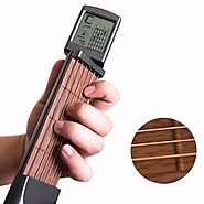 Chord Pal™ Pocket Guitar Practice Tool With Display – guitarmetrics