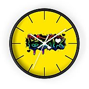 Buy Colourful Rainbow Wall Clock Online