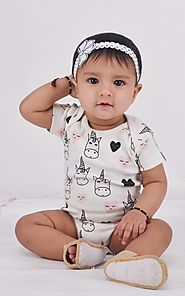 Buy Organic Rompers Online in India for kids and baby – Berrytree