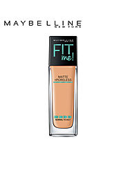 Buy Maybelline New York Fit Me Matte Poreless Liquid Foundation 230 Natural Buff 30 Ml - Foundation And Primer for Wo...
