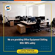 Best Office Shifting Services In India