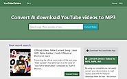 Convert and download YouTube Videos to MP3 | Free Mp3 converter | convert mp3
