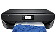 HP Envy 5055 wireless setup for downloading print drivers