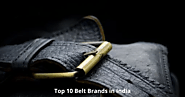 Best Belt Brands in India
