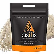 AS-IT-IS Nutrition Whey Protein Concentrate 80% (USA Made) Unflavoured, tested for purity (5kg)