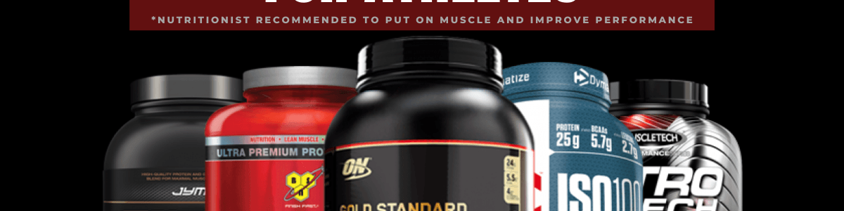 Headline for Top Whey Protein Powders to Gain Muscle Mass
