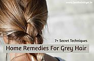 Home Remedy For Grey Hair (7+ Secret Techniques)